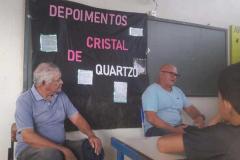 O grupo de jovens mobilizadores de Xambioá, no Tocantins, apresentou um seminário sobre a história da cidade. Moradores que viveram a época da Guerrilha do Araguaia foram convidados para conversar com o grupo e dar depoimentos sobre a época.