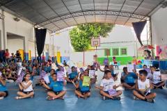 Em Corumbá, no Mato Grosso do Sul, os alunos da escola municipal Luiz Feitosa Rodrigues conheceram a Sorveteria Literária, uma atividade da escola e do grupo de mobilização do PVE para a conscientização da importância da leitura.