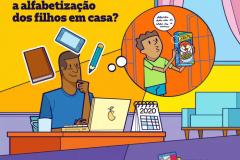 Como continuar a alfabetização dos filhos em casa?