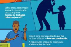 Você consegue imaginar uma história em que adultos mantêm relações sexuais com crianças e adolescentes em troca de dinheiro ou de comida?