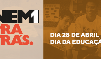 #Nem1pratrás: no Dia Mundial da Educação, uma missão de todos nós