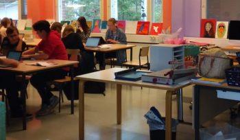 #PVEaBordo: Ensino Fundamental e Médio na Ilha de Kulosaari